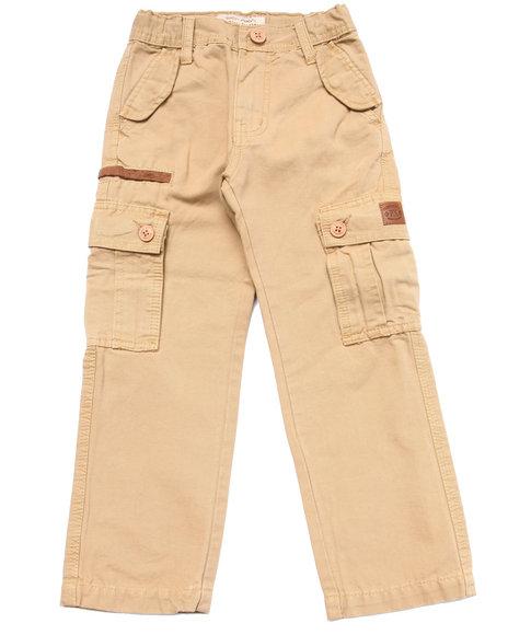 Parish Boys Woven Cargo Pants (47) Khaki 6