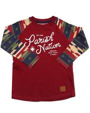 T-Shirts - AZTEC RAGLAN TEE (2T-4T)