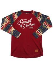 T-Shirts - AZTEC RAGLAN TEE (8-20)