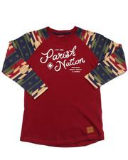 T-Shirts - AZTEC RAGLAN TEE (4-7)