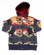 Boys - AZTEC FULL ZIP HOODY (2T-4T)