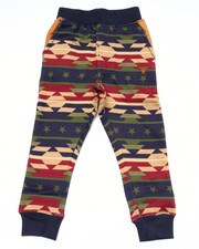 Sizes 4-7x - Kids - AZTEC PRINT JOGGERS (4-7)