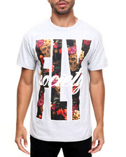 Men - Floral Fly T-Shirt