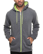 Hoodies - COLOR CONTRAST HOODY