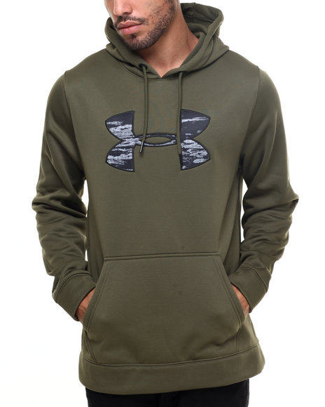 CLICK TO BUY: Under Armour Coldgear Big Logo Armour Hoodie