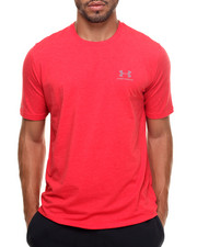 Men - Charged Sportstyle left chest logo s/ tee