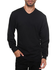 Basic Essentials - Lightweight L/S V-Neck Thermal