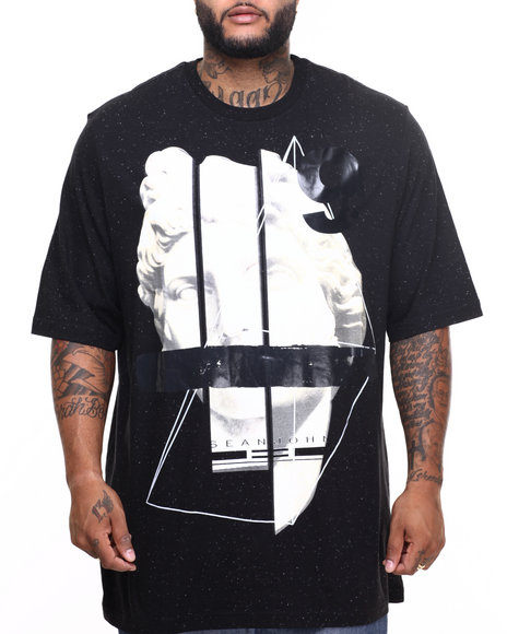 Sean John - Men Black Finesse S/S Tee