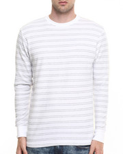 Basic Essentials - Crew Neck Yarn Dyed Stripe Thermal