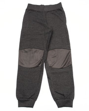 Bottoms - FRENCH TERRY KNEE PATCH JOGGERS (8-20)