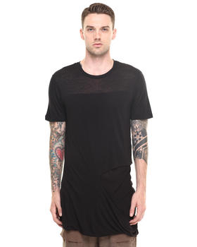 T-Shirts - Scythe Ripped Long Tee