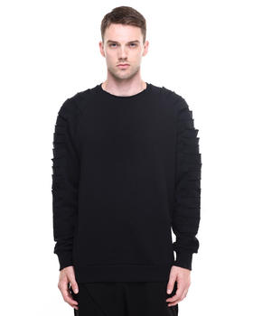 Drifter - Cid Shredded Sleeve Crewneck Sweatshirt