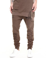 Pants - Oliver Shredded Drawstring Pants