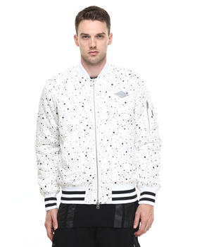 Light Jackets - SPLASH SHADOW BOMBER JACKET