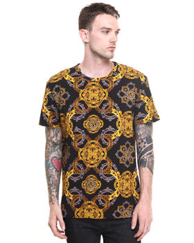 Versace Jeans - Gold Rococo Print Tee