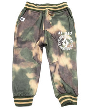 Sweatpants - SPRAY CAMO JOGGER (2T-4T)