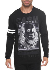 Men - Cash Is King L/S Tee