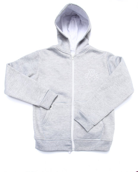 Akademiks Light Grey Hoodies