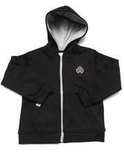 Hoodies - FULL ZIP FLEECE HOODY (2T-4T)