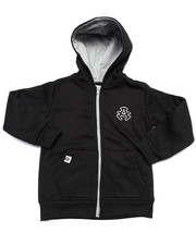 Hoodies - FULL ZIP FLEECE HOODY (4-7)