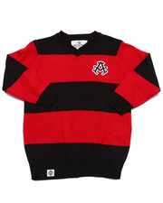 Black Friday Shop - Boys - V-NECK STRIPED SWEATER (2T-4T)