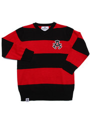 Black Friday Shop - Boys - V-NECK STRIPED SWEATER (4-7)