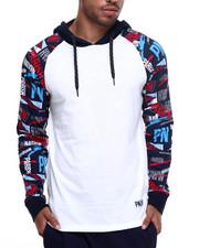 Hoodies - Print L/S Hoodie T-Shirt