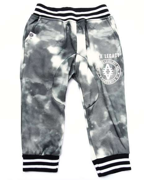 Akademiks - Boys Black Spray Camo Jogger (2T-4T)
