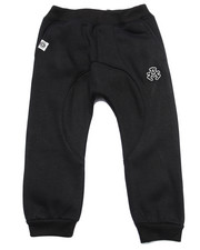 Sweatpants - FLEECE DROP CROTCH JOGGERS (2T-4T)