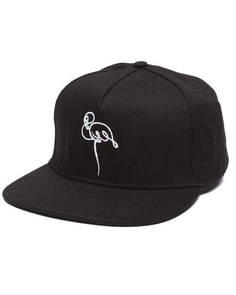 Akomplice Men Script Base Hat Black