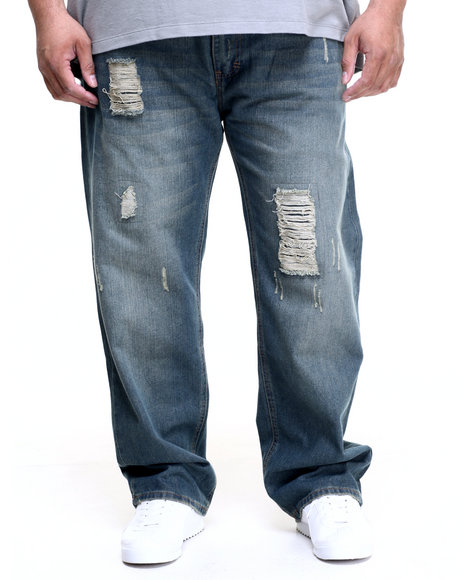 Rocawear - Men Vintage Wash Attic Jeans (B&T)