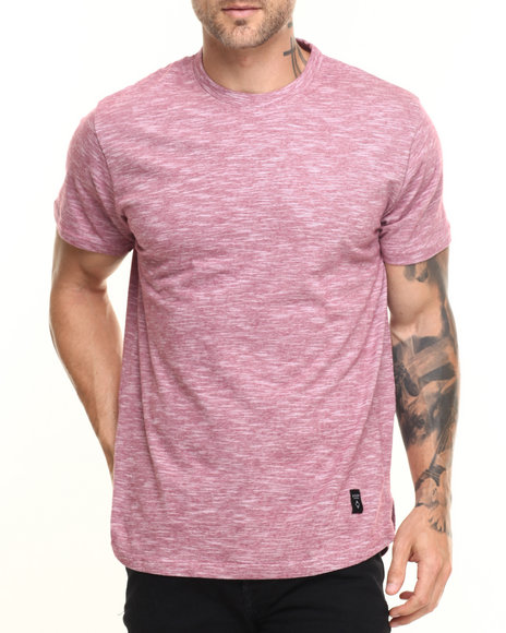 Akomplice - Men Red Color Dt Tee - $24.00