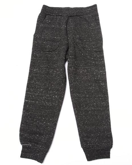 Nine Threads - Boys Grey Melange Fleece Jogger (4-7)