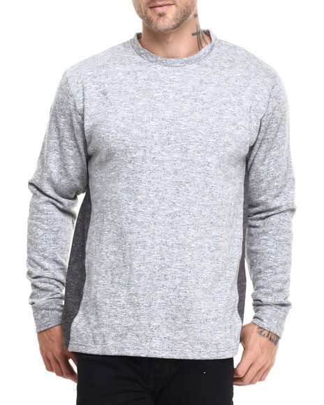 Akomplice - Men Grey Greyther Cn Crew Sweatshirt