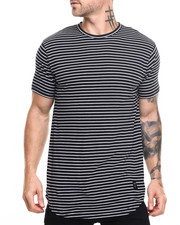 Men - White Striped Moan SC Tee