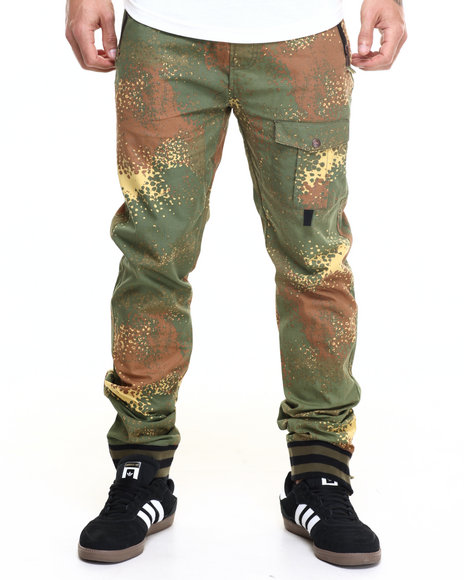 Born Fly - Men Camo Wahiba Joggers