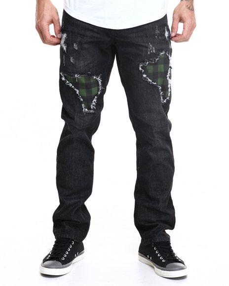 Born Fly - Men Black Buffalo Jeans - $61.99