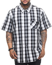 Men - RC Plaid S/S Button-Down (B&T)
