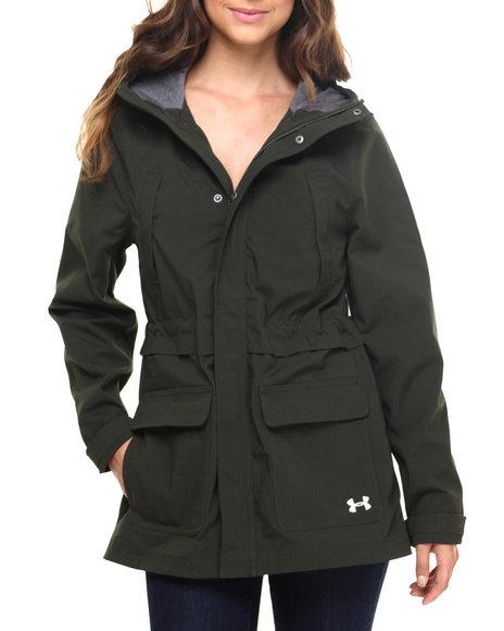 Under Armour - Women Green Ua Seneca Jacket