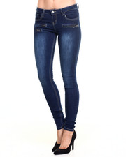 Fashion Lab - Zipper Front Skinny Jean