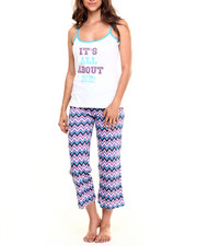 Intimates & Sleepwear - All About Me Chevron Print Cotton PJ Set