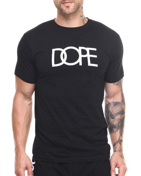 Dope - Men Black Dope Logo Tee