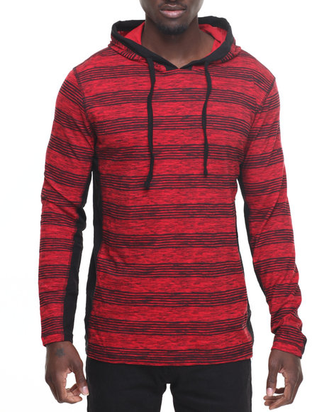 Striped Hoodie Men