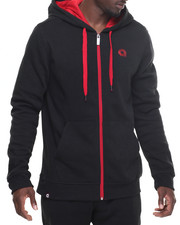 Men - Essential full zip hoody