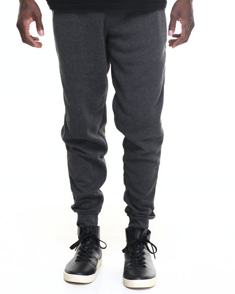 Akademiks - Men Charcoal Core Jogger Sweatpants