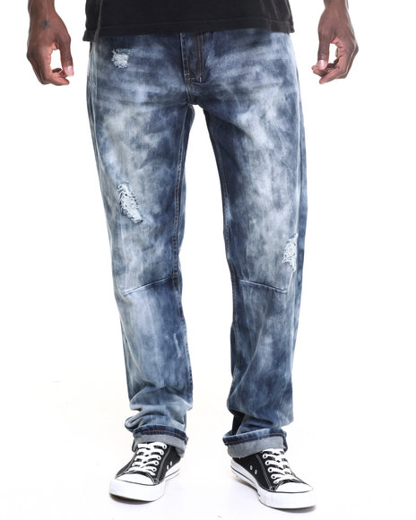 Parish - Men Dark Wash Terrain Denim Jean - $66.00