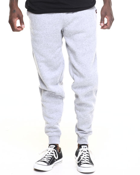 Akademiks - Men Grey Core Jogger Sweatpants