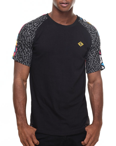 Enyce - Men Black Chairy T-Shirt - $22.99
