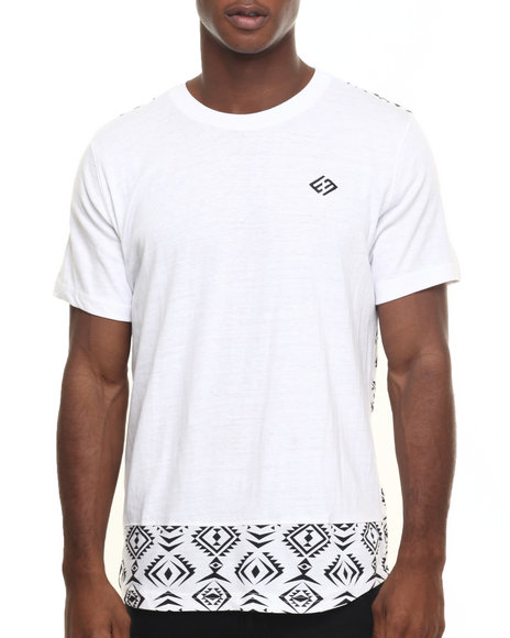 Enyce - Men White First Of Month Long T-Shirt - $8.99