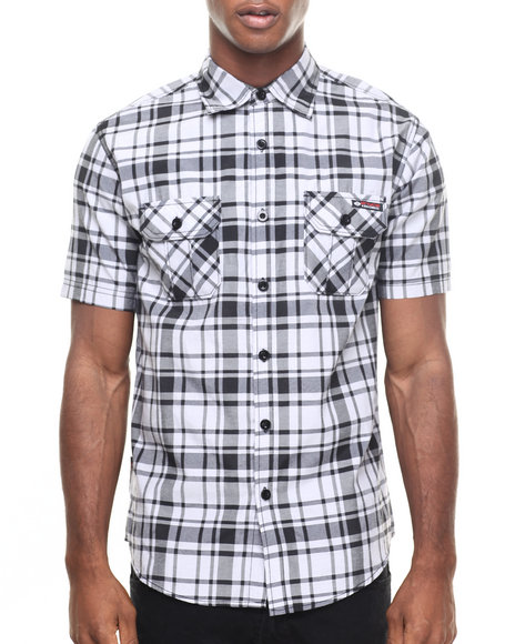Enyce Grey Button-Downs